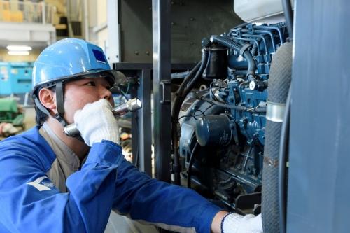 建設機械の整備職【東証一部上場で業界トップクラス、安定しており安心して働ける企業です】