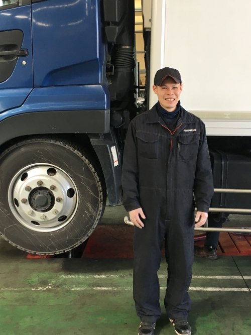 【未経験OK/整備士】トラック等大型車がメインの指定整備工場です。入社後の資格取得も可能!