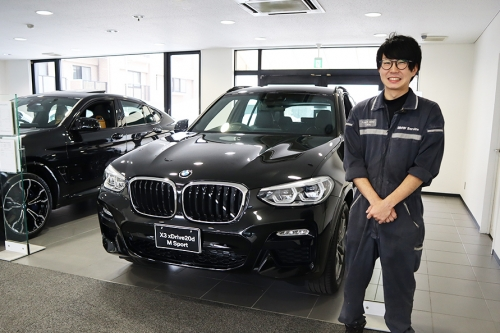 【千葉県浦安市】BMW正規ディーラーの自動車整備士求人!資格手当で給与大幅アップ!福利厚生も充実!