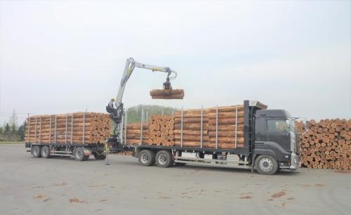 世界に1台のオリジナルの林業用クレーン付きトラックの製作スタッフ募集