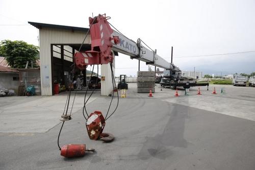 移動式クレーン整備