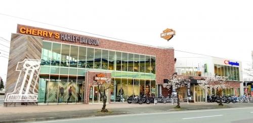 チェリーズハーレーダビッドソン山形と店舗を共有しております。
