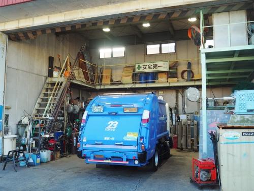 自社の車両整備がメイン。