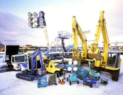 様々な機械を触ることができる環境