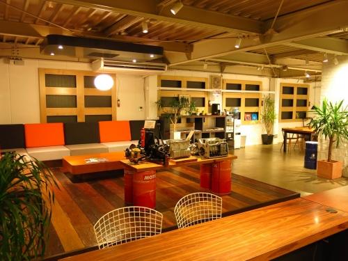 大田区にあるローバー専門工場のお客様対応スペースです
