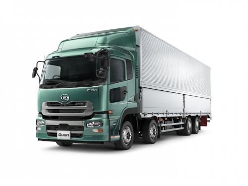 UDトラックスの大型トラック「Quon(クオン)」