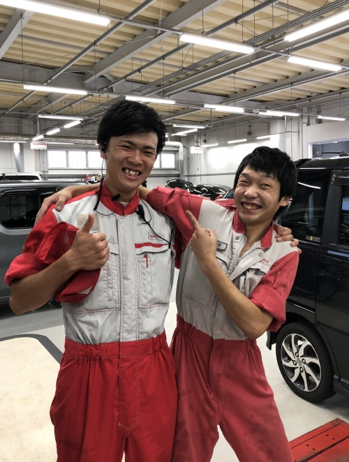 社員全員が『明るく・元気』に活躍!
