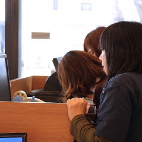 女性が活躍する職場