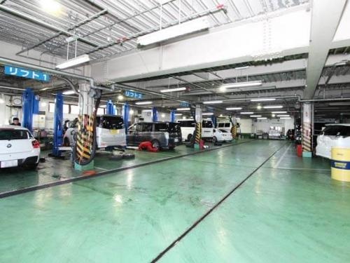 充実の工場設備があります