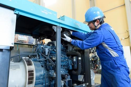 発電機メンテナンス1