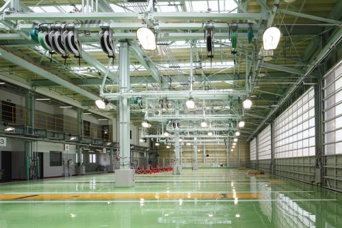 生産性、効率性を追求した、最新の工場設備
